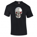 NA129 NABD Steel Skull Saphire Eye T Shirt (2016 New Design)