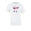 Banksy Spaced Out T Shirt in White
