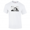 Banksy 20th Century Fox Blockade t Shirt in White