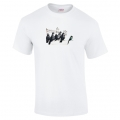Banksy Bird Migrants T Shirt White
