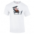 Banksy Child Labour T Shirt in White