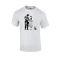 Banksy Dorothy Police Search T Shirt in Grey